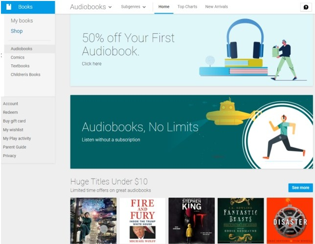 audiobooks on google play now feature bookmarks  smart