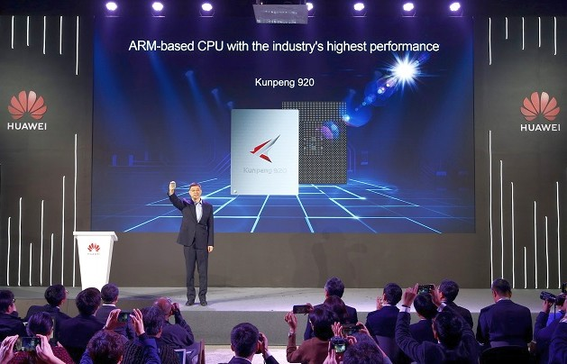 Huawei unveils next-gen server chipset to reduce reliance on imports