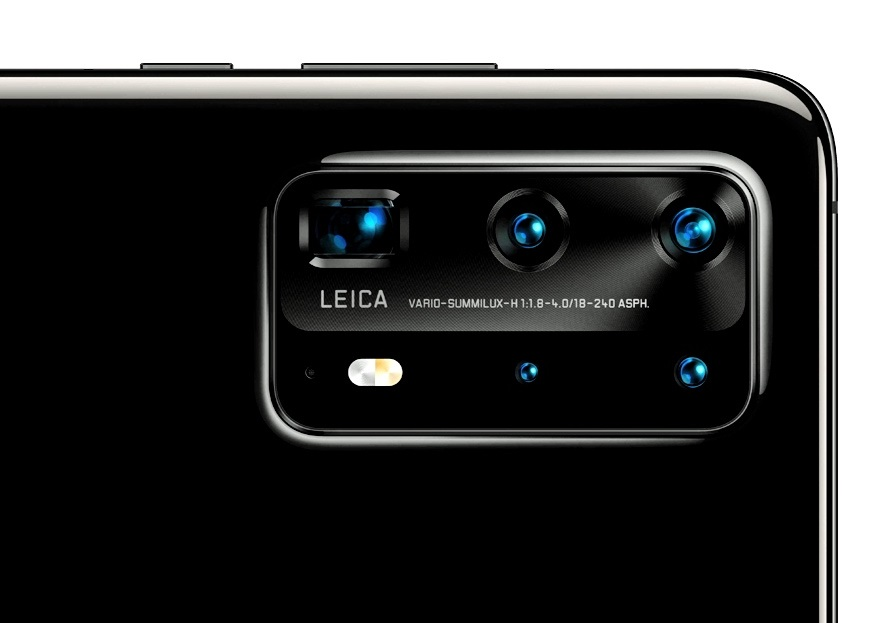 Huawei P40 Pro: Two optical zoom cameras and two large sensors to ...