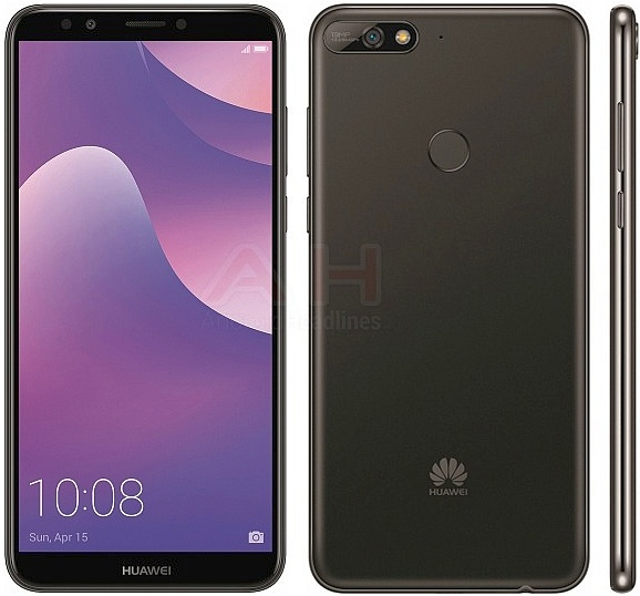 Huawei Y7 2018 Renders Surface Online Notebookcheck