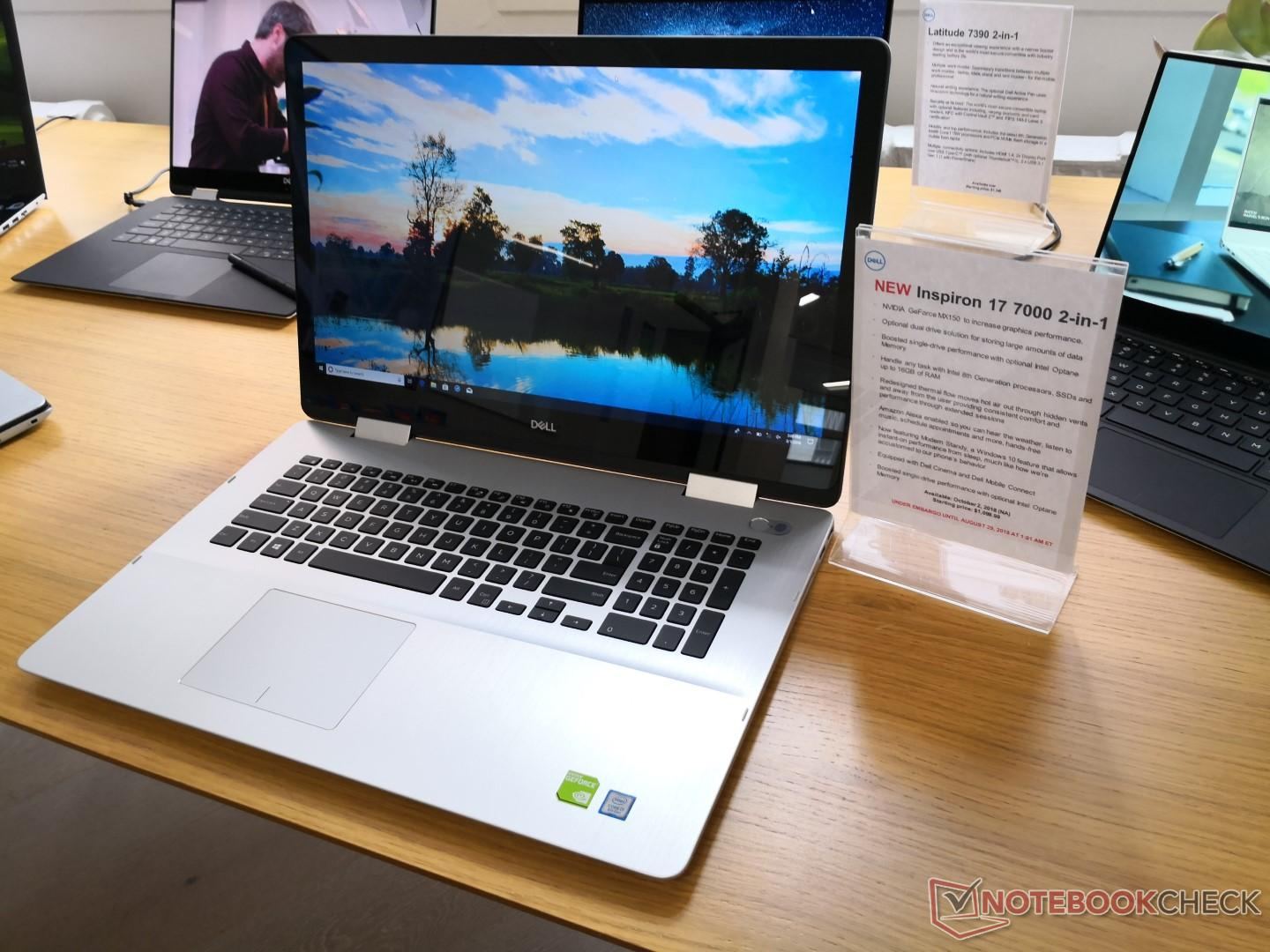 Dell is refreshing its entire Inspiron 7000 family with new