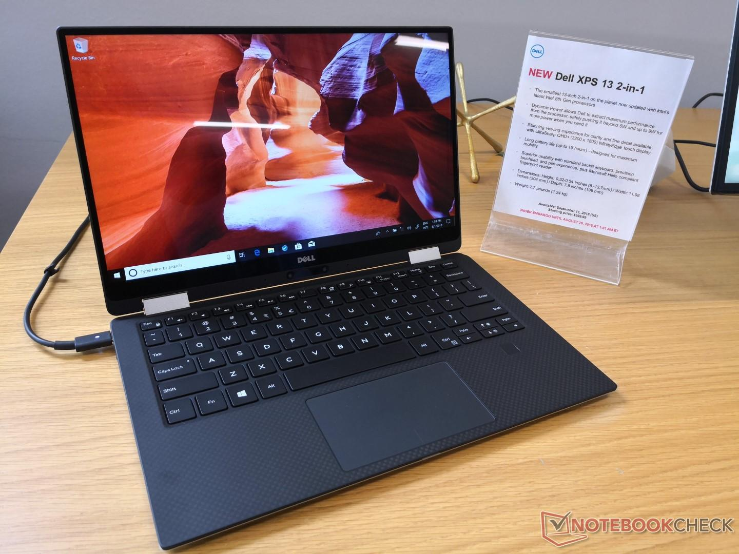 The XPS 13 2-in-1 is coming back with Intel Amber Lake SoCs