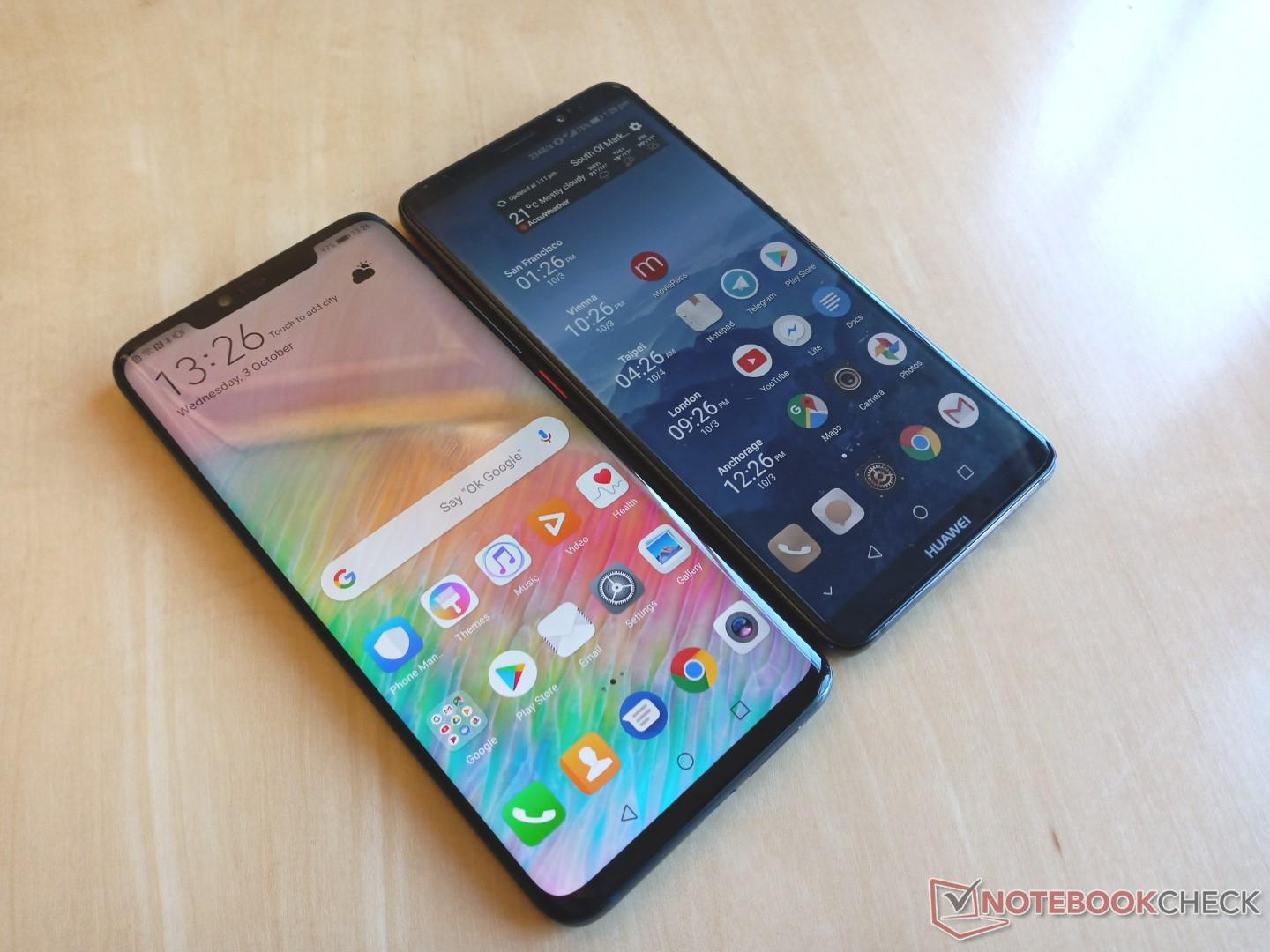 The Mate 20 Pro is Huawei's answer to the iPhone XS Max