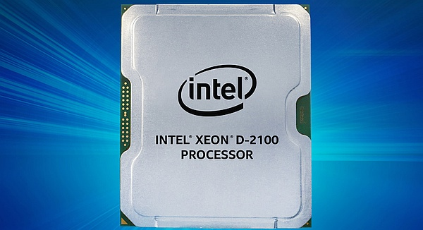Intel Xeon D-2100 processor unveiled