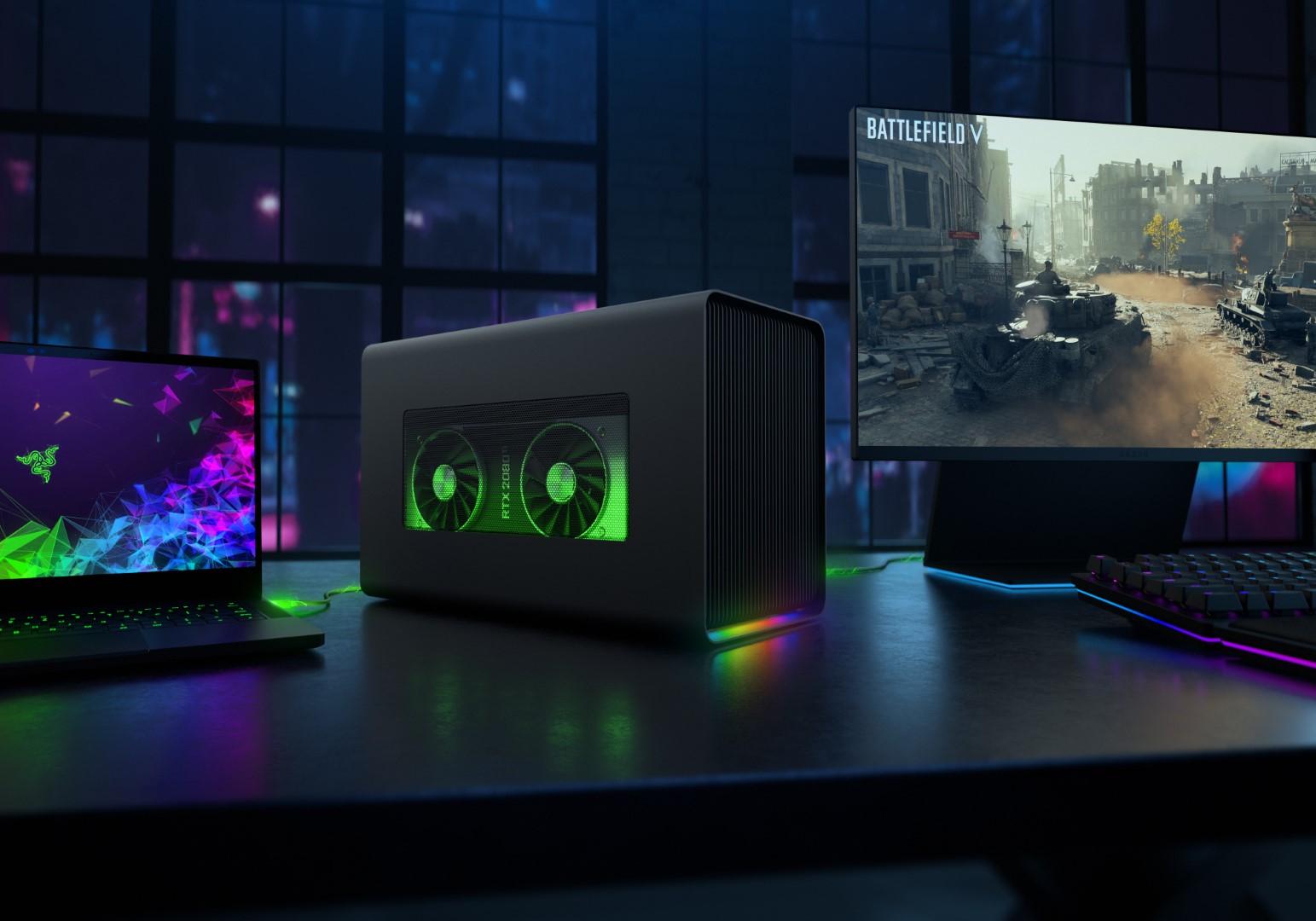 Razer announces Core X Chroma external graphics enclosure for Windows laptops
