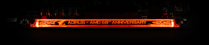 Gigabyte celebrates AMD's upcoming 50th anniversary with a