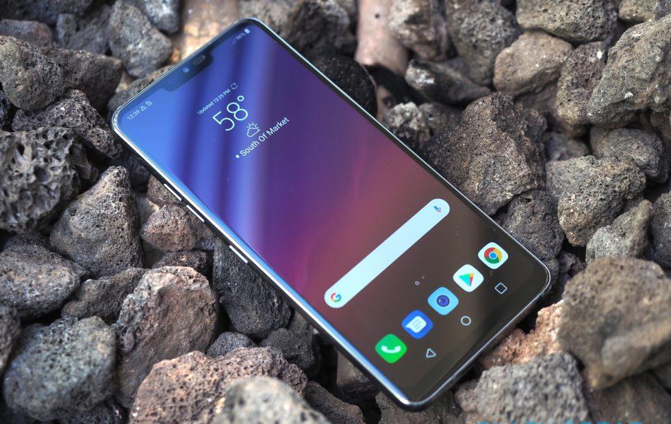 LG G7 display tips