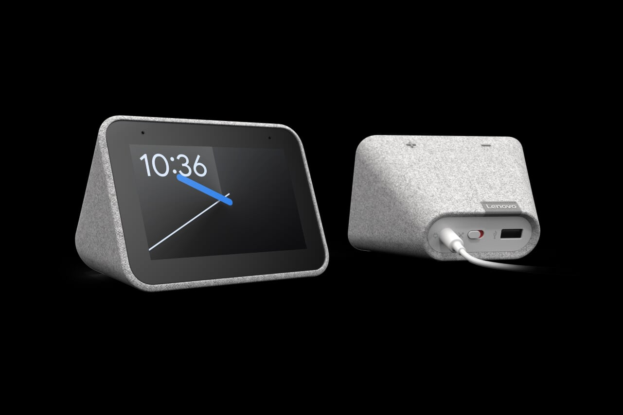Google's and Lenovo's Smart Clock makes your morning alarm less terrible