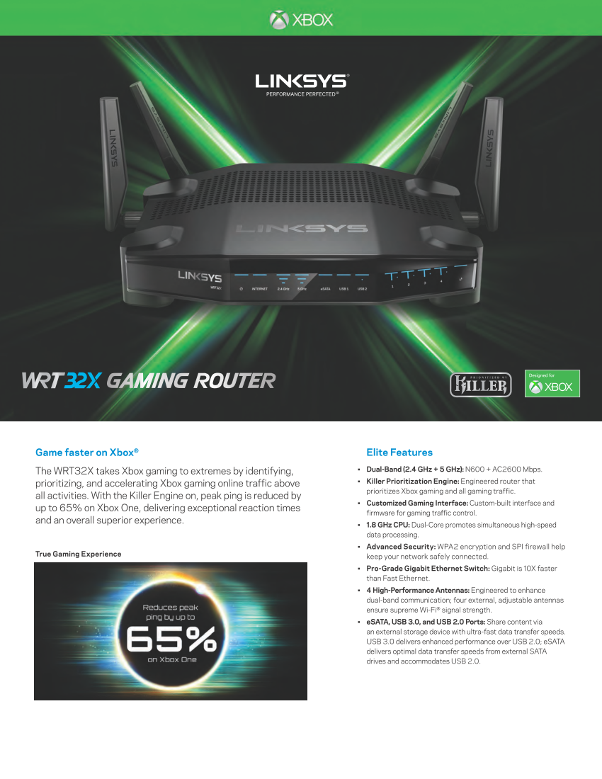 Linksys WRT32XB will be the first router optimized ...