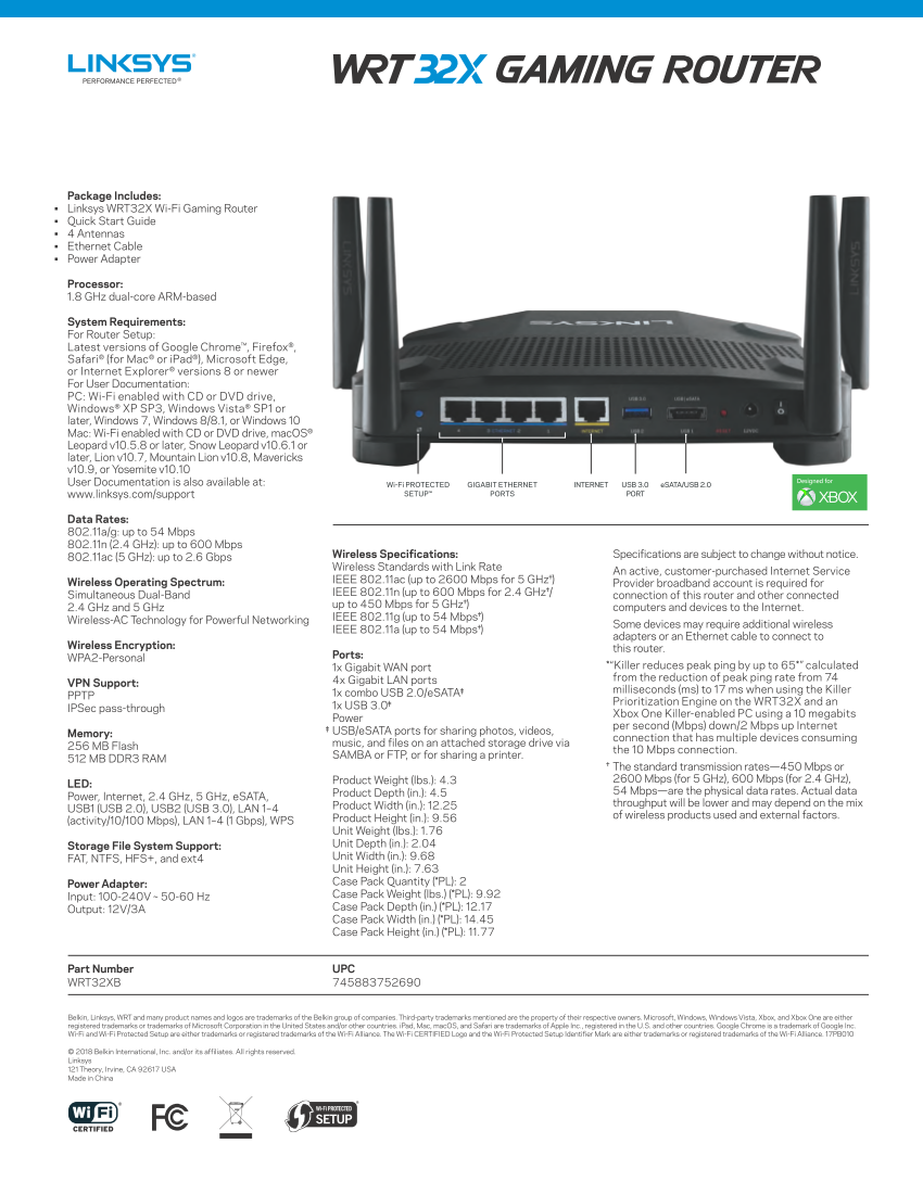 Linksys WRT32XB will be the first router optimized