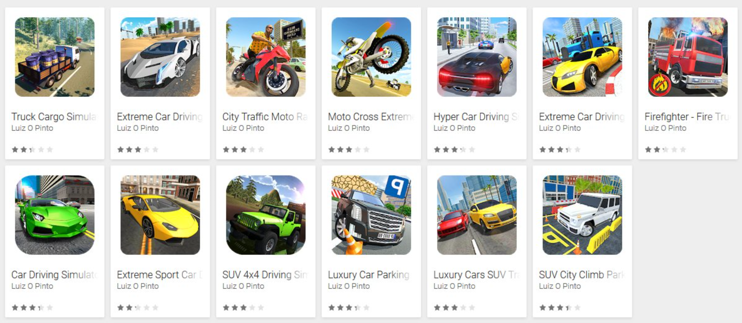 Google Play Security Exposed By Malware Hidden In Fake Driving Games