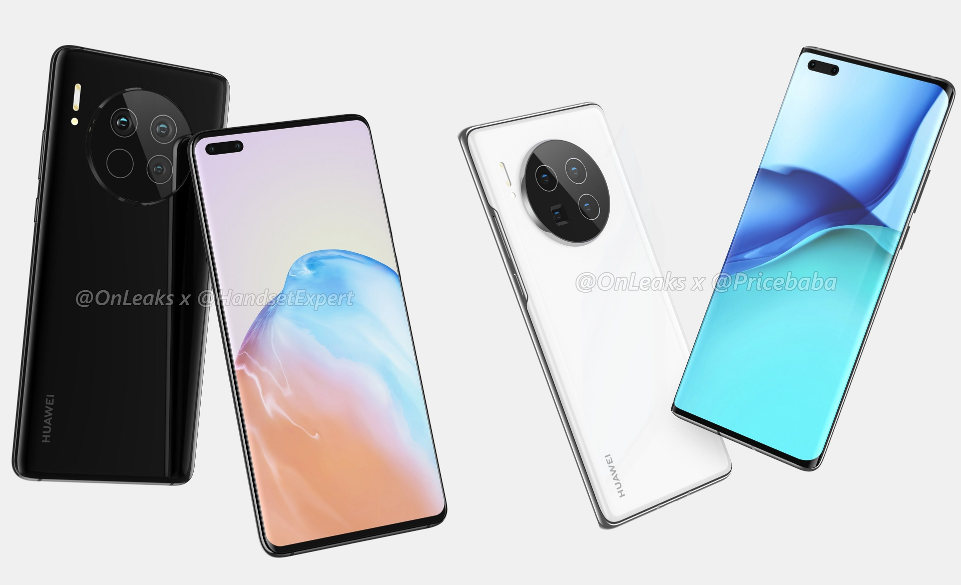 Leaked Mate 40 and Mate 40 Pro renders confirm a more practical ...