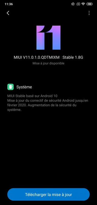 Mi 8 Lite stable global Android 10 update. (Image Source: PiunikaWeb)