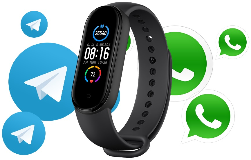 Mi Band 6 with built-in GPS could allow wearers to fully utilize services like WhatsApp and Telegram according to Xiaomi Mi Fit code - Notebookcheck.net