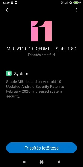 Mi Max 3 stable global Android 10 update. (Image Source: PiunikaWeb)