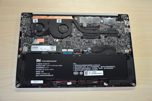 Xiaomi Notebook Teardown Shows Exactly What Makes It Tick