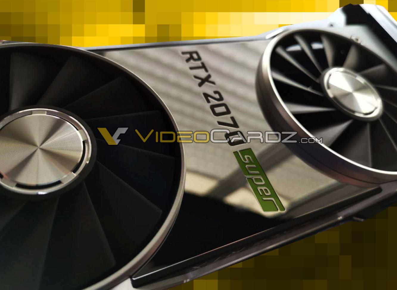 NVIDIA RTX Super specifications leak, RTX 2080 Super touted