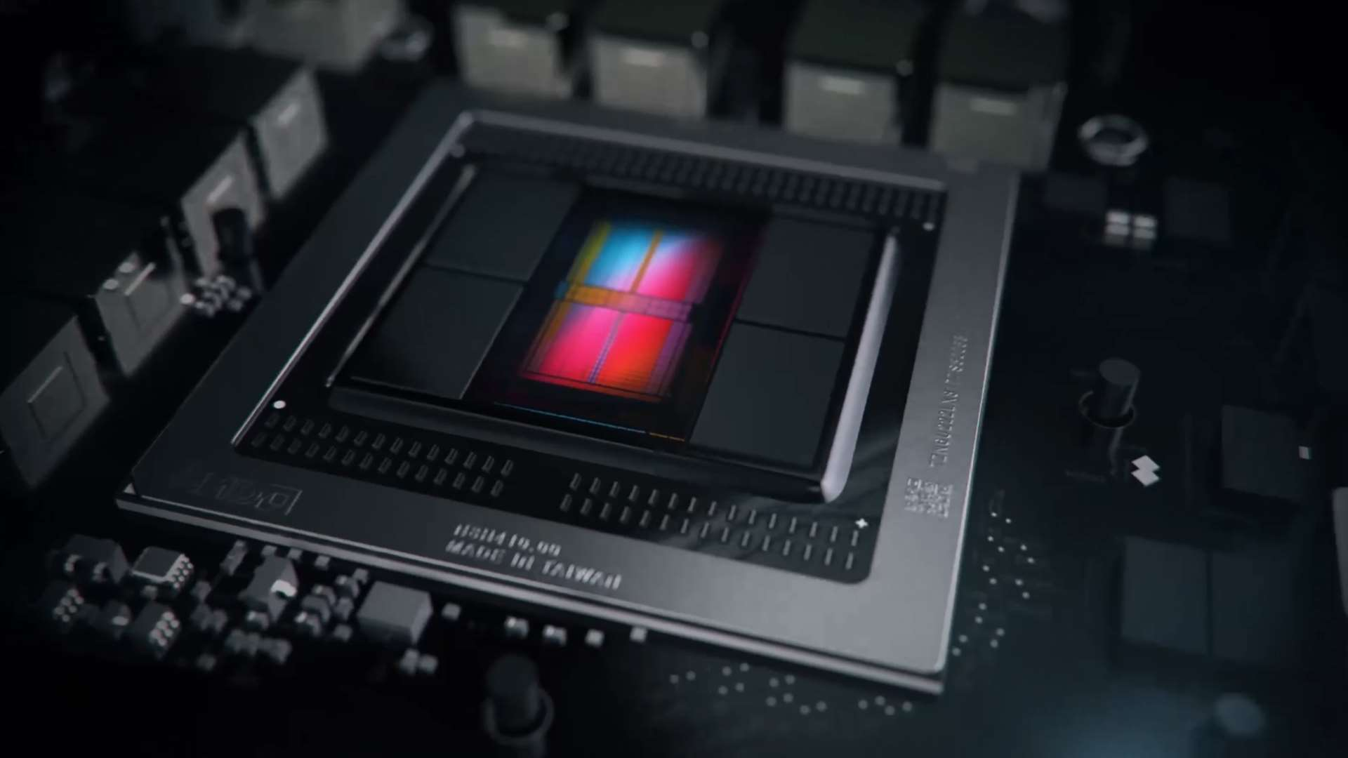 Images of possible printed circuit board for AMD's Navi