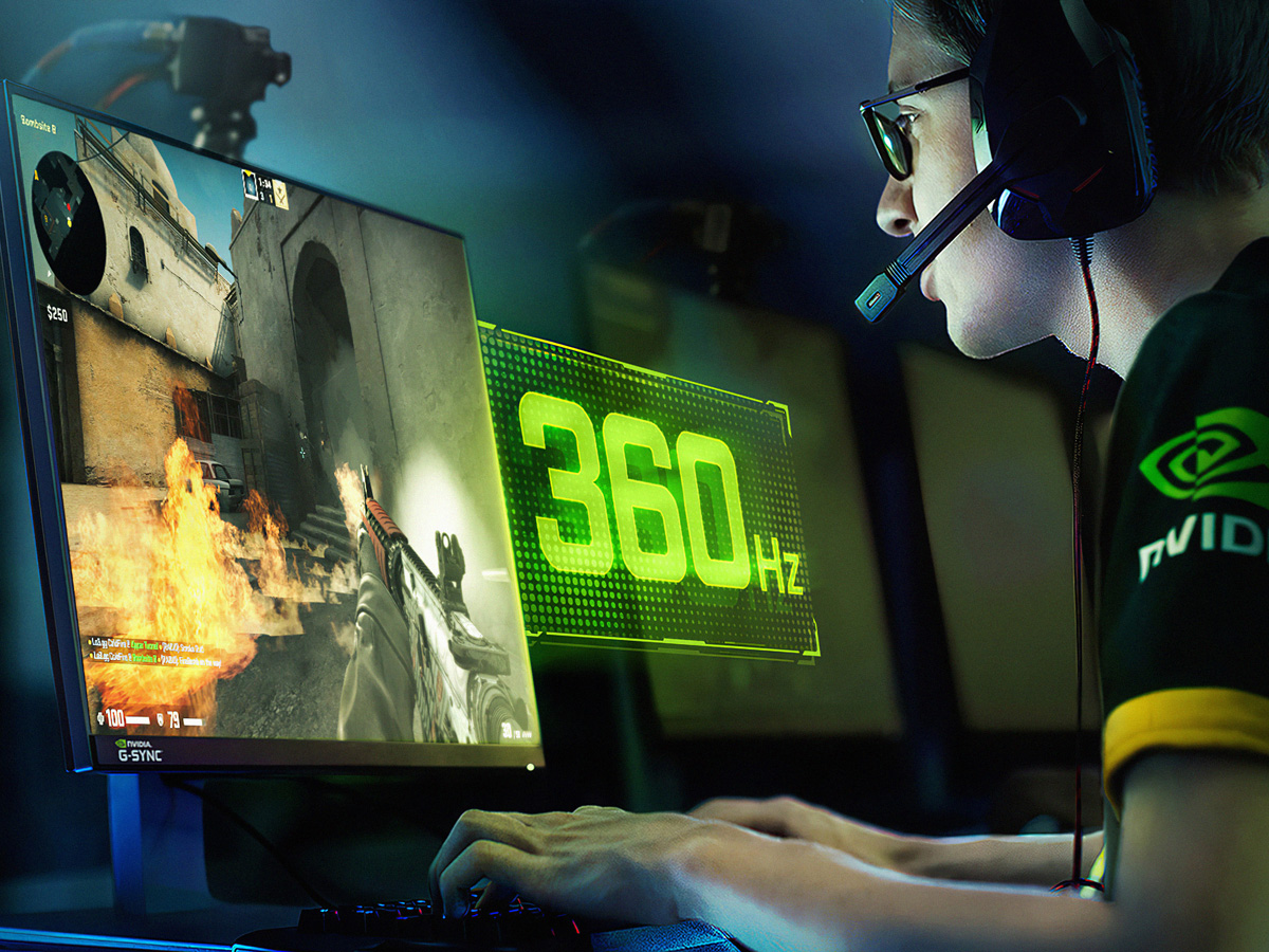 NVIDIA Announces G-SYNC Displays with 360Hz Refresh Rate
