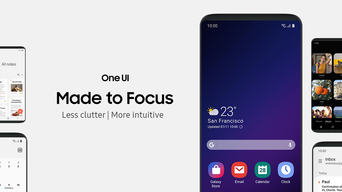 Samsung's One UI Will Not Make It To The Galaxy S8, S8