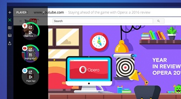 Opera Neon experimental web browser now available for download