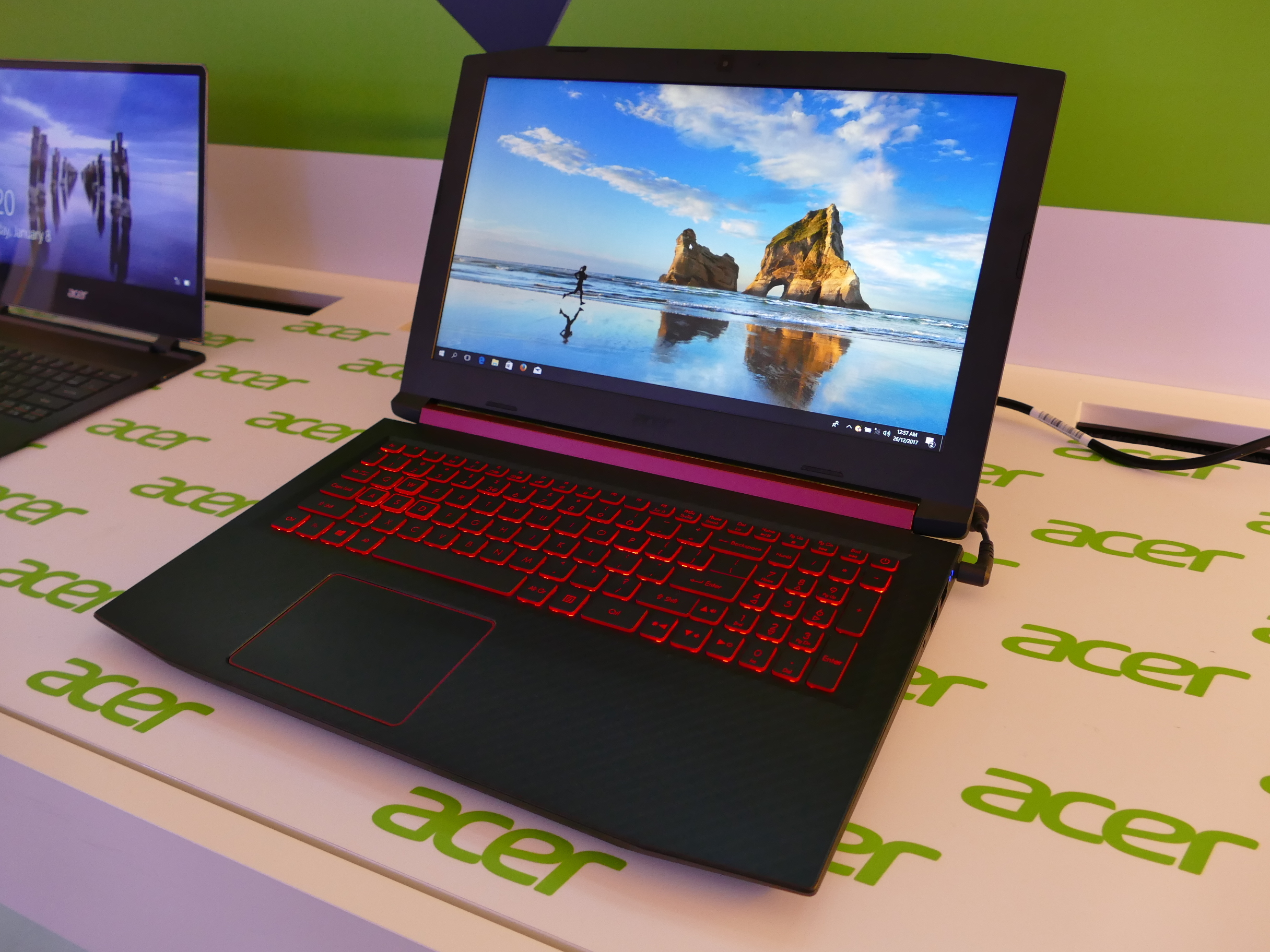 First benchmarks of the Acer Nitro 5 (2018): AMD Ryzen 7
