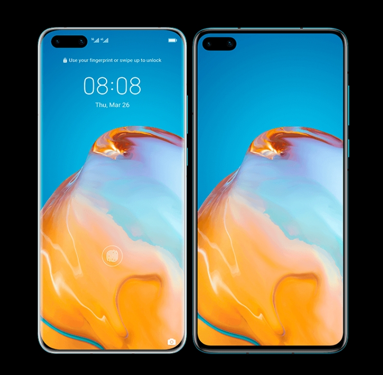 Huawei P40 Premium renders leaked. Two telephoto cameras confirmed?