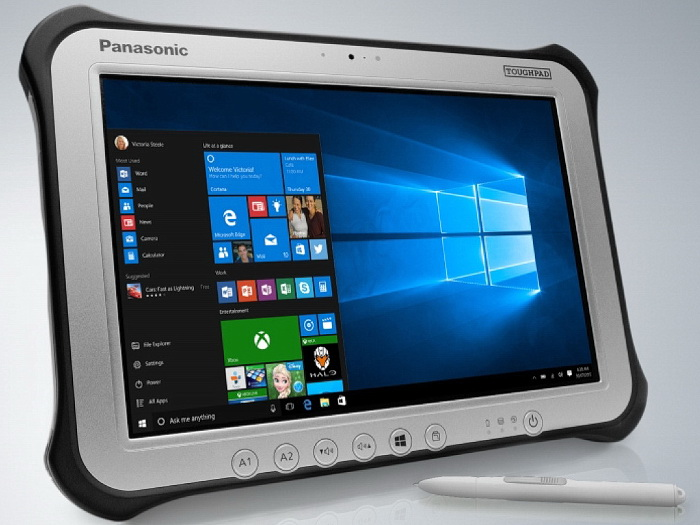 Panasonic Updates Toughpad Fz G1 Fully Ruggedized Tablet