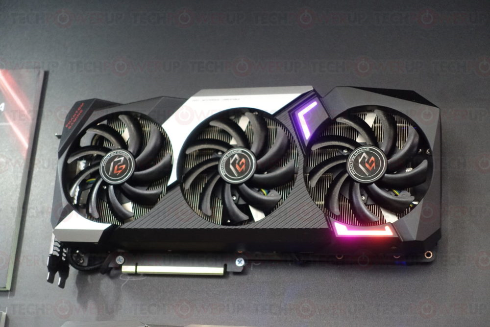 ASRock may have just shown off physical Navi Radeon RX 5700