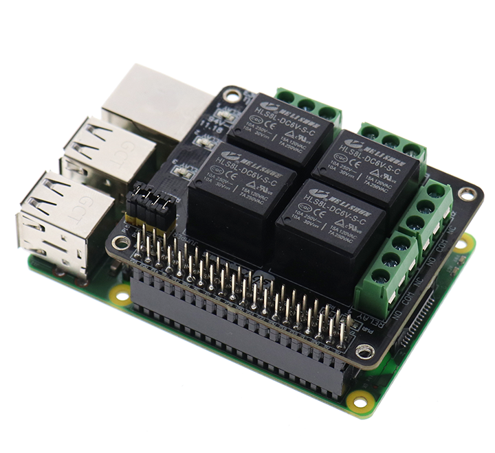 PiRelay, a Raspberry Pi relay shield with a mobile app that costs