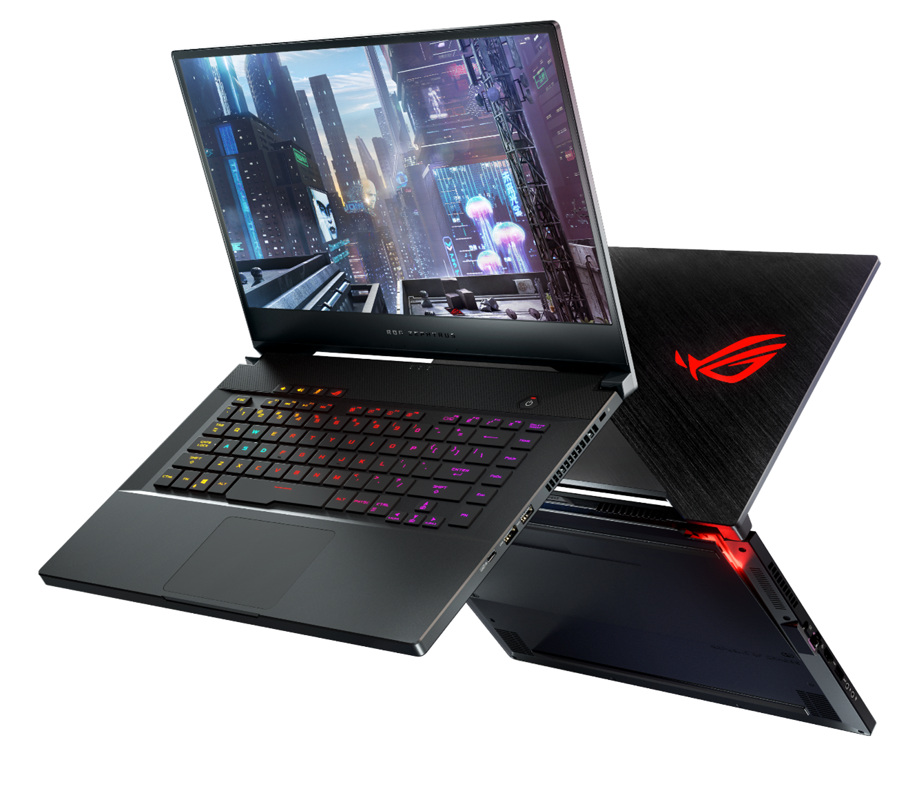 The Asus Zephyrus S GX502 offers a 9th gen Core i7 CPU and