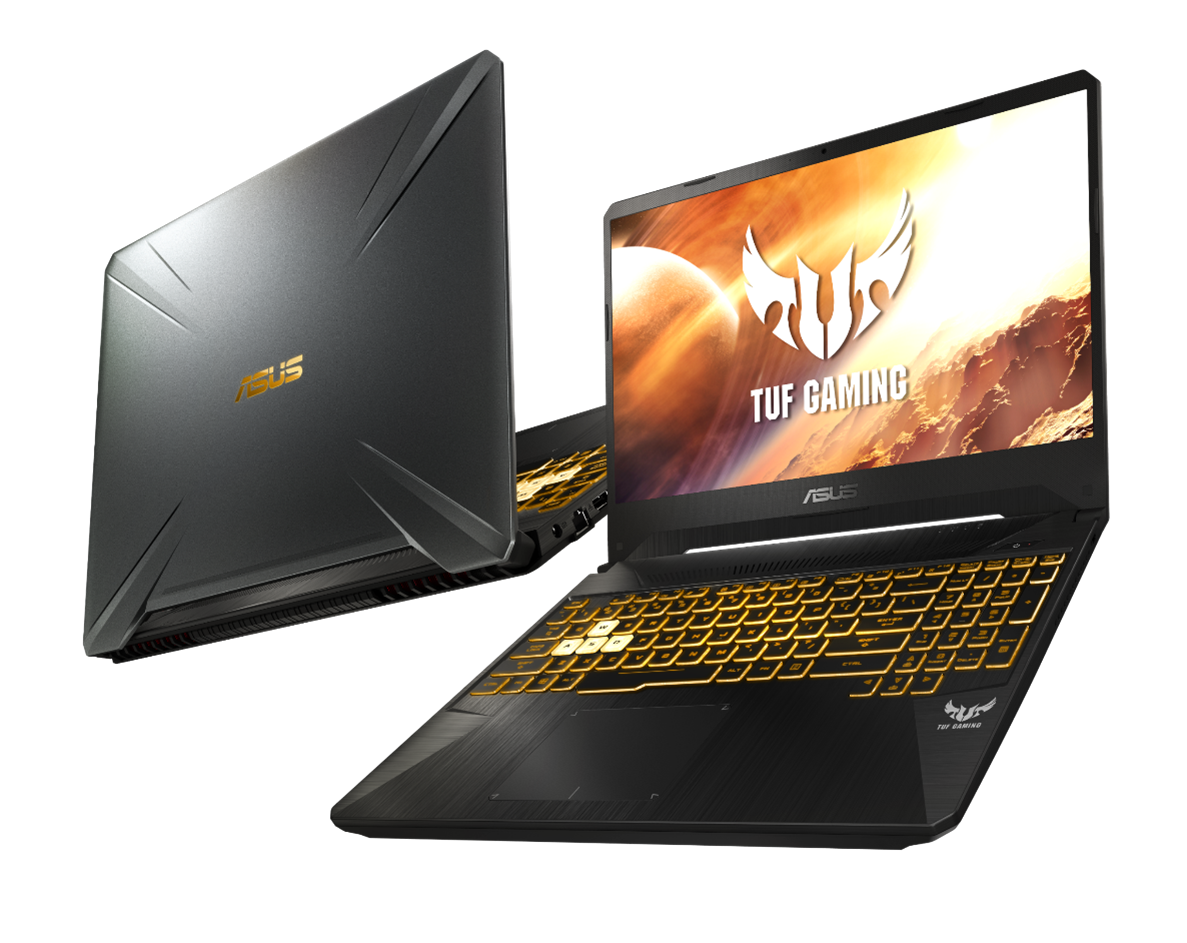 Asus TUF Gaming FX505 and FX705 now available with AMD Zen+ Ryzen