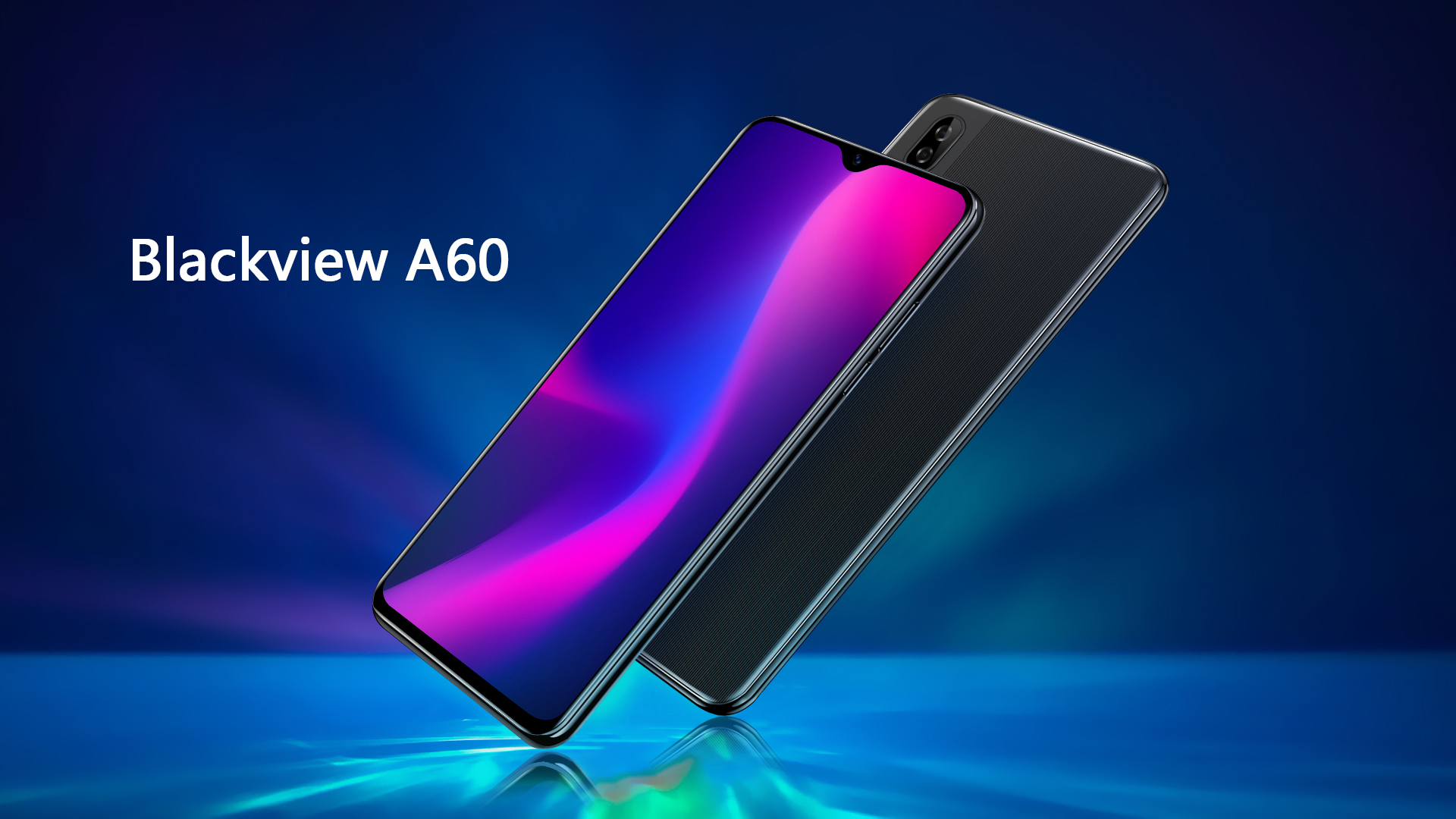 The new Blackview A60 is an Android Go phone with a big 4080 mAh