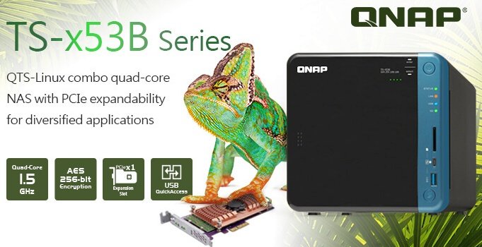 QNAP TS-x53B series NAS now available - NotebookCheck net News