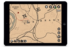 red dead redemption 2 companion app will put your game s map on your