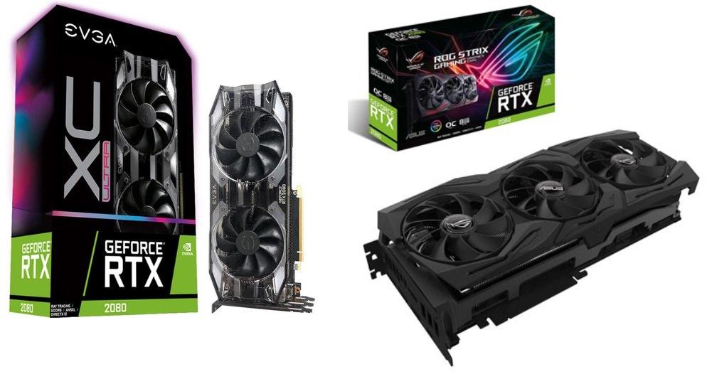 Walmart discounts EVGA, MSI, and Asus GeForce RTX 2080 GPUs