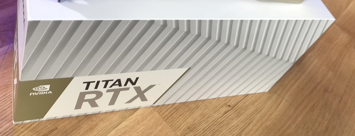 First pictures of the NVIDIA RTX Titan teased by YouTubers and