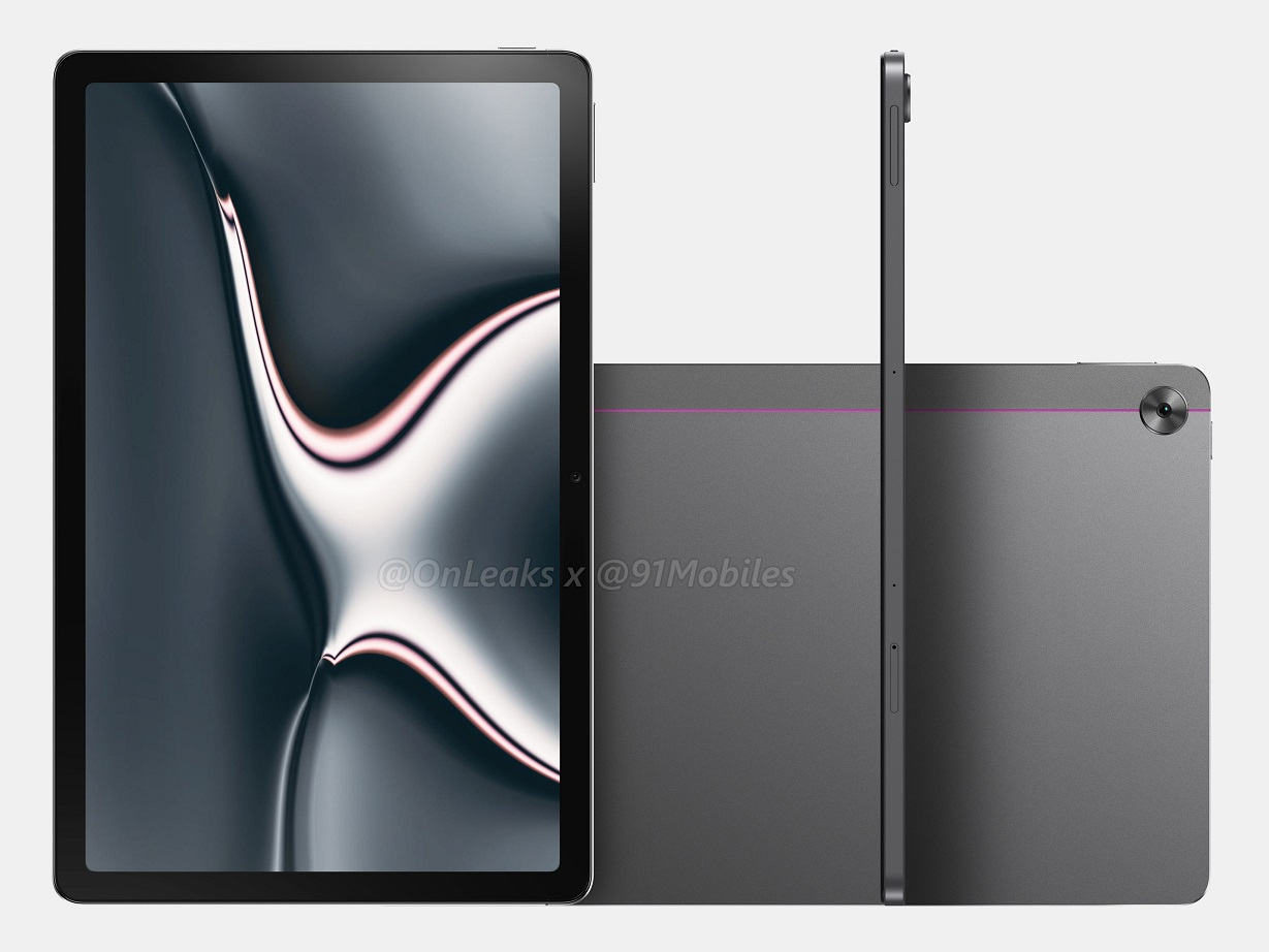 New Realme Pad renders show underwhelming design choices for the upcoming 10.4-in tablet - NotebookCheck.net News