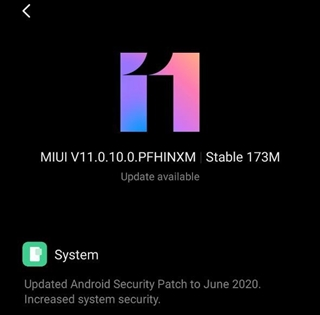 The Redmi Note 7 Pro remains on Android 9.0 Pie and MIUI 11 in India. (Image source: Piunikaweb)