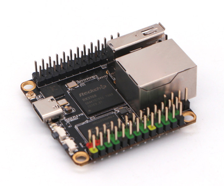 Rock Pi S: A US$9 9 Rockchip RK3308 powered SBC that is tinier than