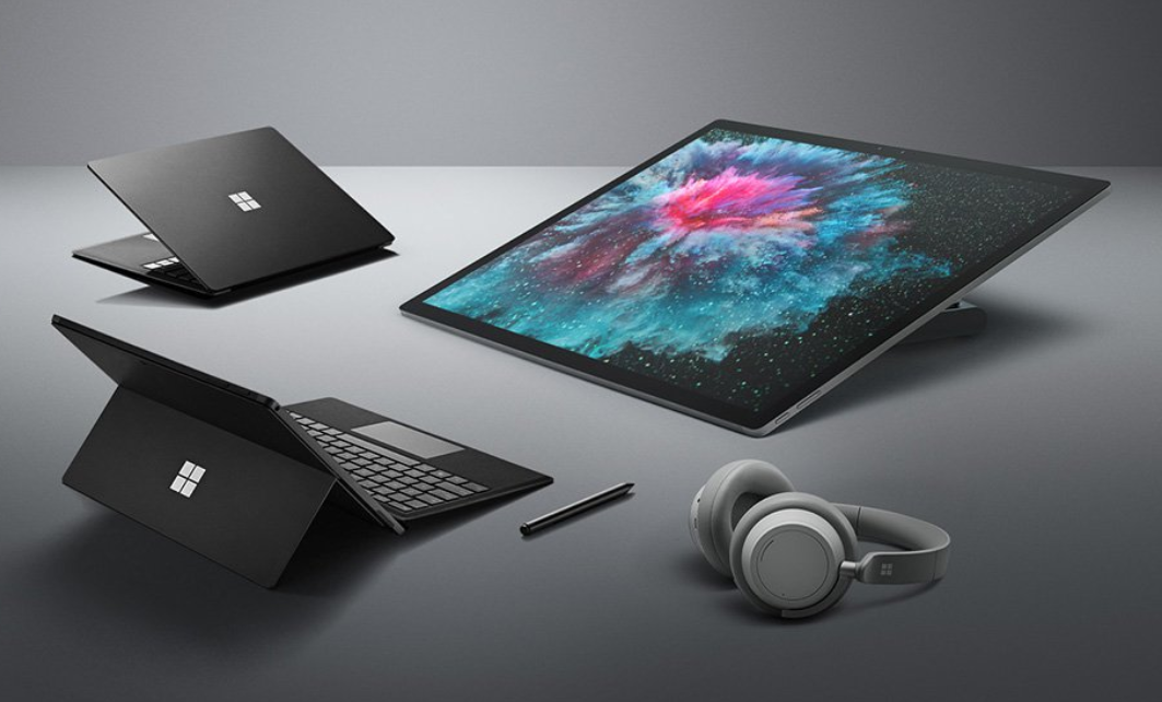Microsoft Introduces Refreshed Surface Lineup, With Black Editions