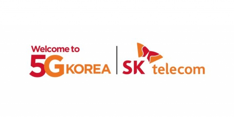ddbbbcad853b Some promotional material for 5G via SK Telecom. (Source  SK Telecom)