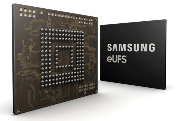 Samsung begins mass production of 256GB embedded Universal Flash Storage for cars