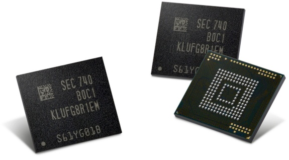 Samsung starts mass-producing first ever 512GB chips for mobile devices
