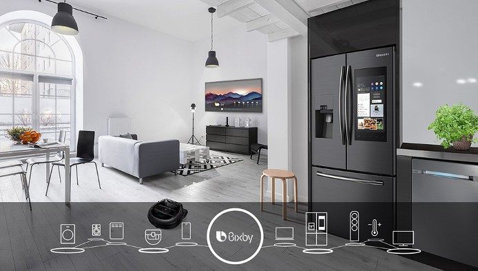 Samsung Bixby coming to ovens and robot cleaners this year