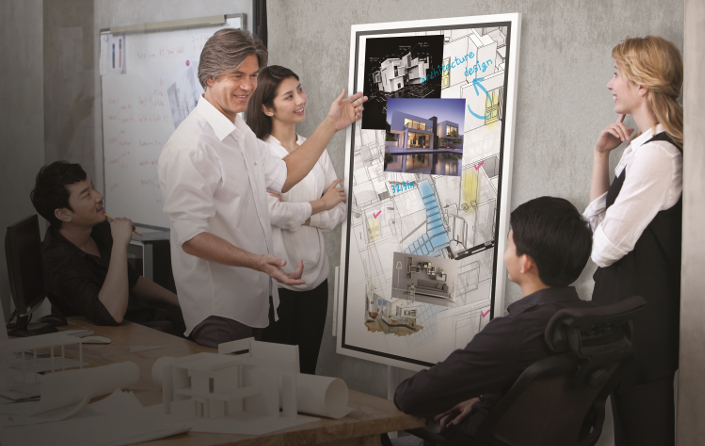 'Flip' Is Samsung's Giant Digital Whiteboard
