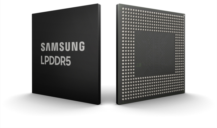Samsung Develops Industry's First 8Gb LPDDR5 DRAM Chip