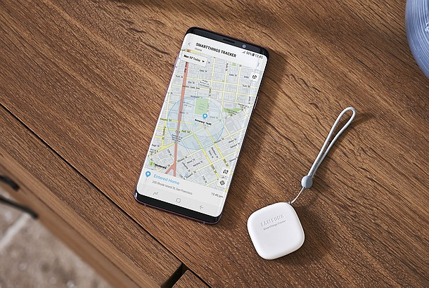 Samsung unveils the SmartThings Tracker GPS tracking device