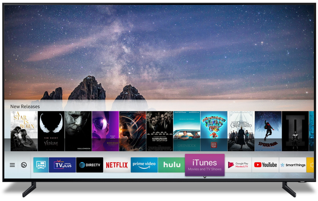 Samsung adds rival Apple's iTunes to TVs
