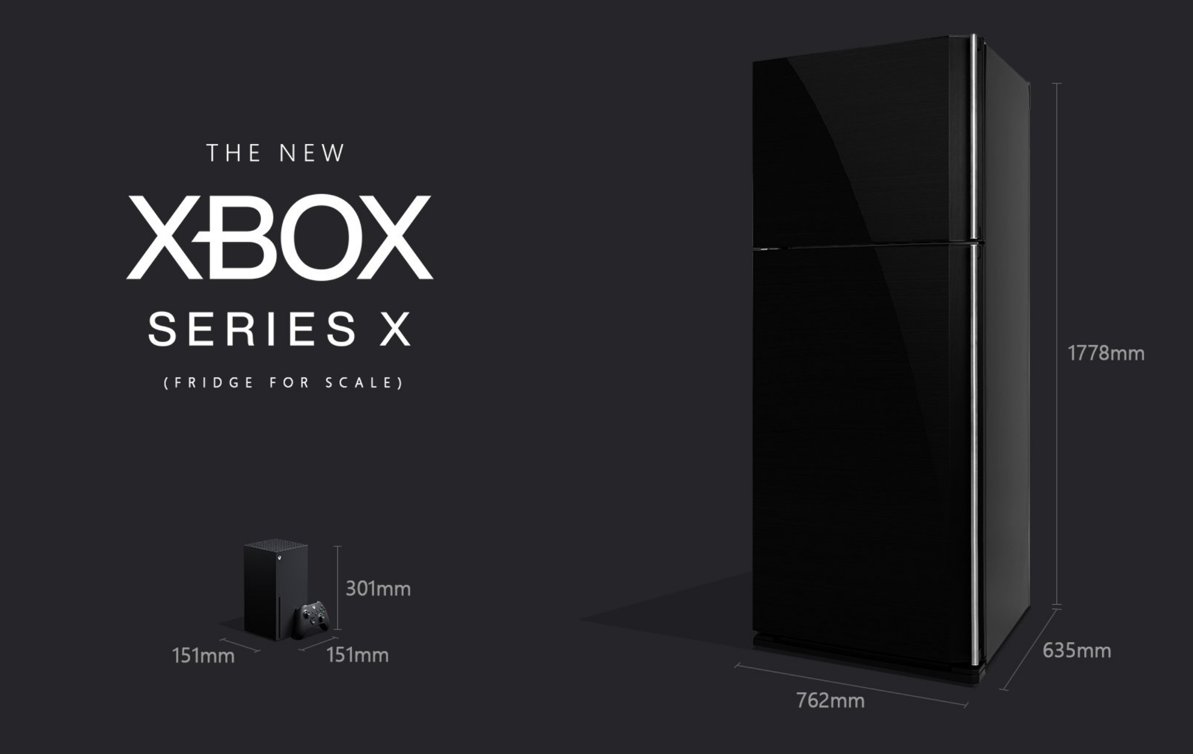 Been Wondering How Big The Xbox Series X Is Microsoft Compares It With A Fridge For Scale Notebookcheck Net News